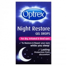 Optrex Night Restore Gel Drops - 10ml