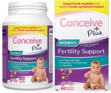 Conceive Plus Women Fertility Support Multivitamins 60 Caps
